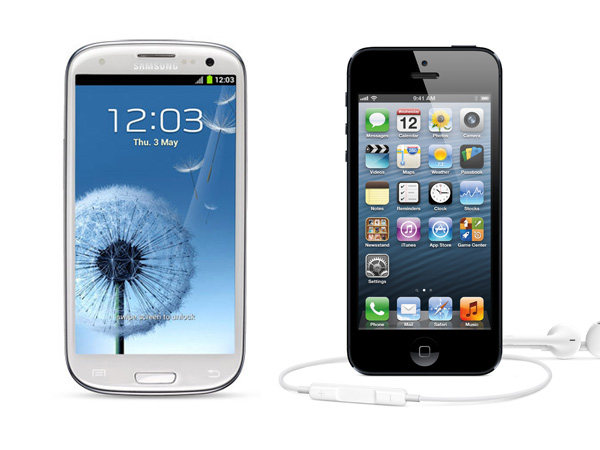 Samsung Galaxy S III Versus iPhone 5