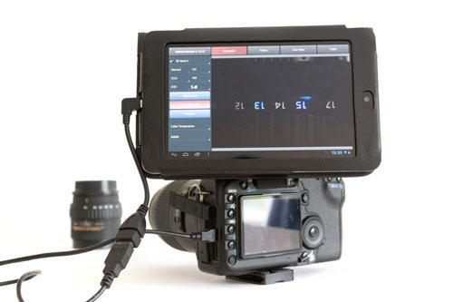 DSLR Controller app to control your Canon EOS DSLR camera