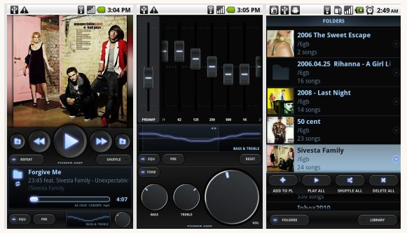 Poweramp android app
