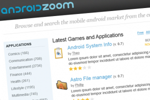 read reviews of an app before you start downloading with androidzoom