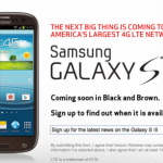 Verizon releases black and brown versions of the Samsung Galaxy S III
