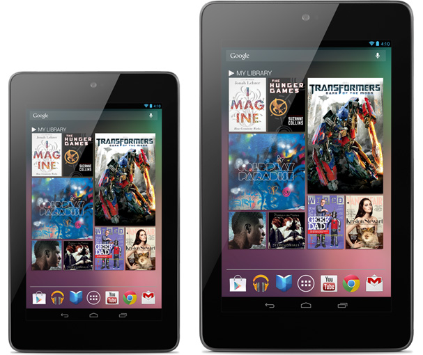 Nexus 7, 7-inch tablet