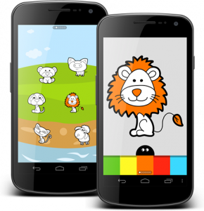 samo coloring for kids android app