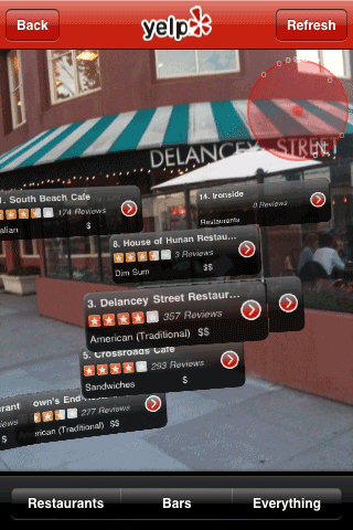 yelp android app