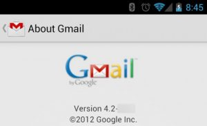 How to install Gmail 4.2 with pinch-to-zoom on rooted Android