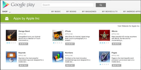 Beware of fake Apple apps on Google Play Store
