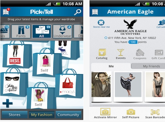 PicknTell android app