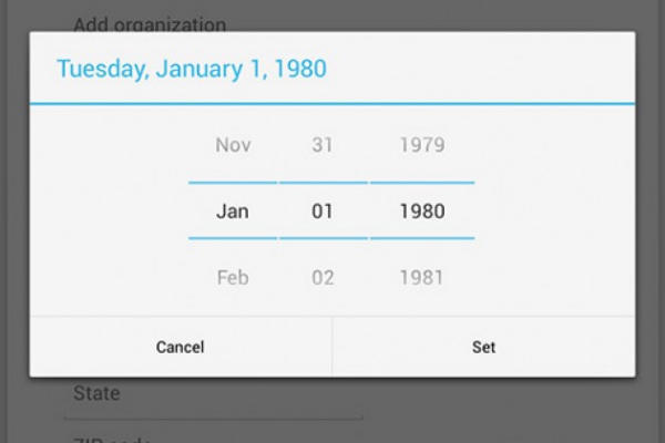 Android People App now has December thanks to Android 4.2.1 Update