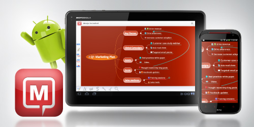 Mind Map Your Ideas and Strategies on Your Android