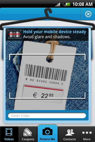 pickntell android barcode scanner