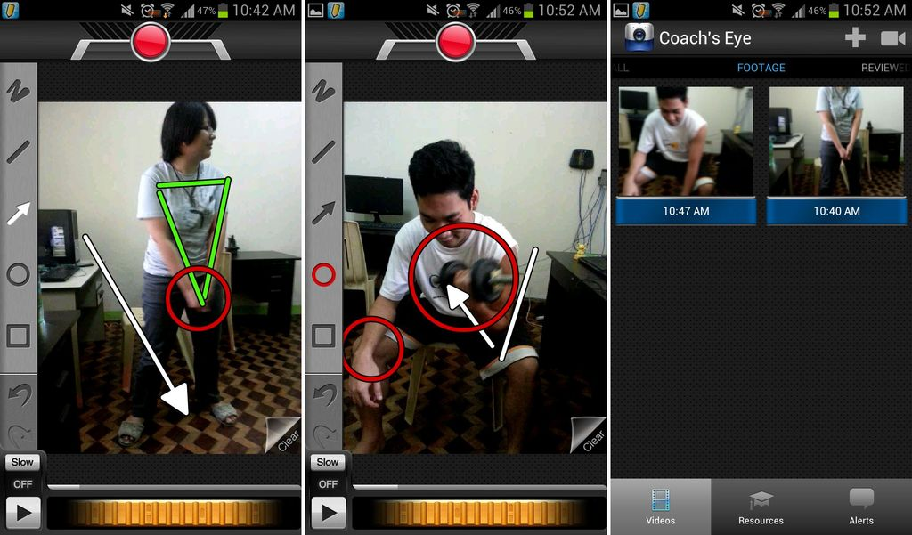 coach's eye android app