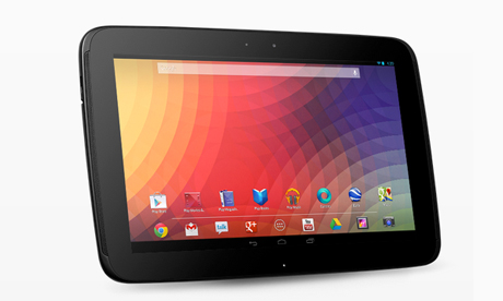 Full-sized Android tablets (10 inches or more)