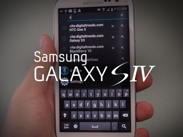 Latest Samsung Galaxy S4 Rumors – 13MP camera, 1080p display