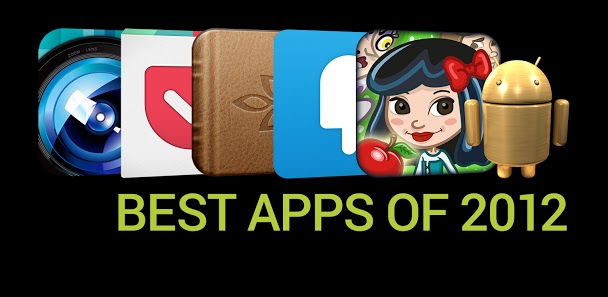 Google Reveals Its Top 12 Favorite Android Apps of 2012