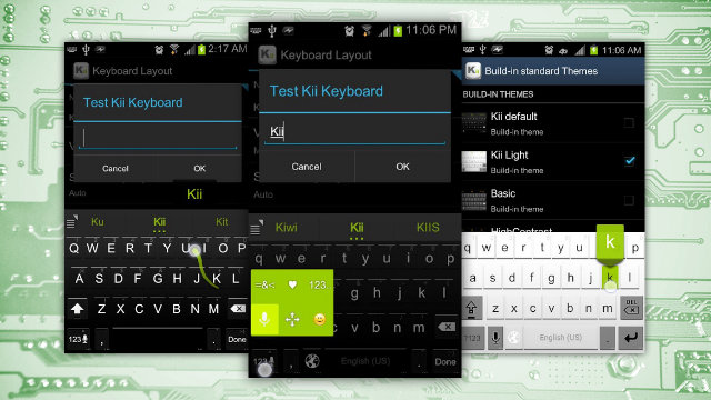 Android Kii Keyboard