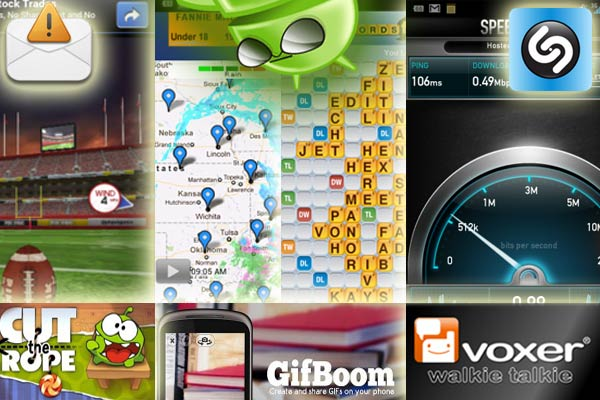 the best apps for android