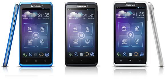 Lenovo Creates Line of Android Smartphones