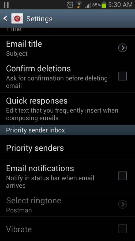 Turn Off Duplicate Email Message Notifications On Your Samsung Galaxy