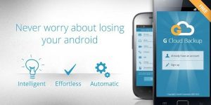 G Cloud Backup – Bringing the Cloud Revolution to Android