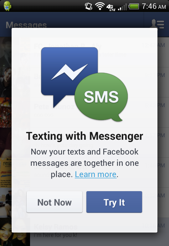 facebook-sms-messenger