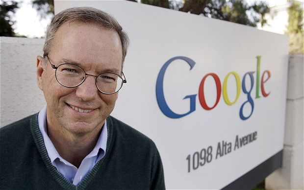 Yes It's True, Google's Chairman, Eric Schmidt, Uses a BlackBerry