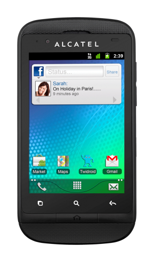 alcatel one touch 918 live