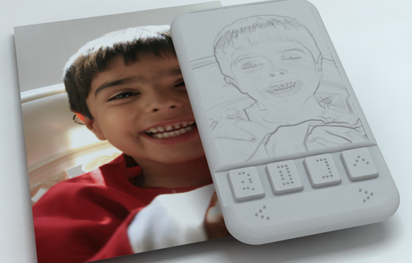 Check Out the World's First Braille Smartphone