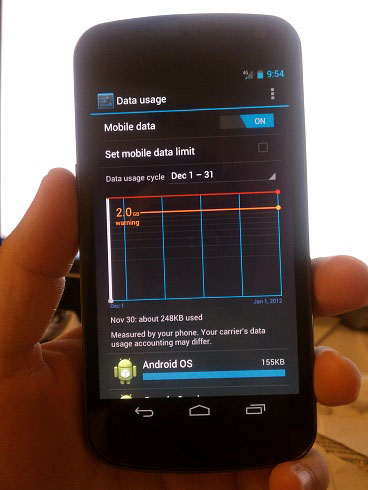 How to Set a Data Usage Limit on your Android Phone