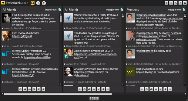 TweetDeckInterface