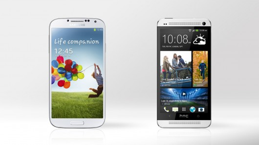 Samsung Galaxy S4 vs HTC One