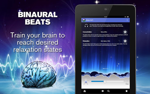 relax melodies binaural beats