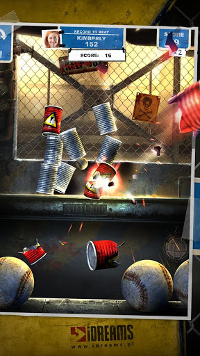 Can Knockdown 3 explosive ball