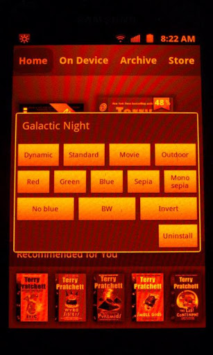 Galactic Night Red