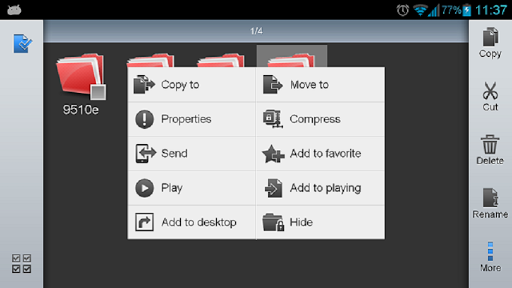 ES File Explorer manager