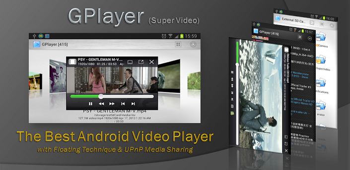 GPlayer – A Video Player Unlike Any Other