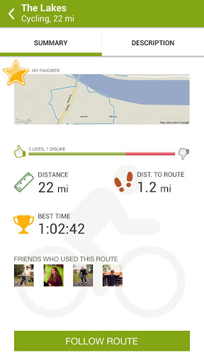 endomondo summary