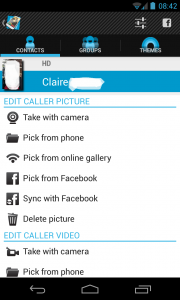 Full-Screen-Caller-ID profile