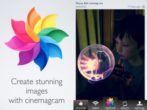 Cinemagram – Make Your Images Come Alive