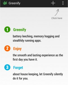Greenify android app for rooted devices