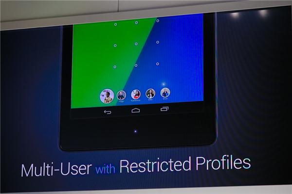 Restricted profiles for multi-user