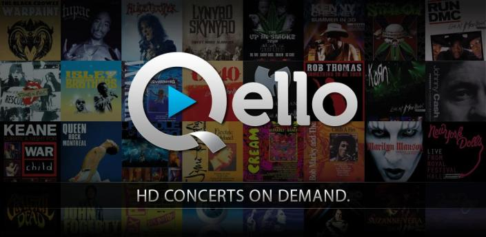 Stream Concerts & HD Music Videos with Qello