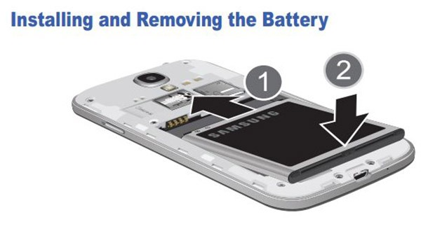 Replace the battery in three seconds