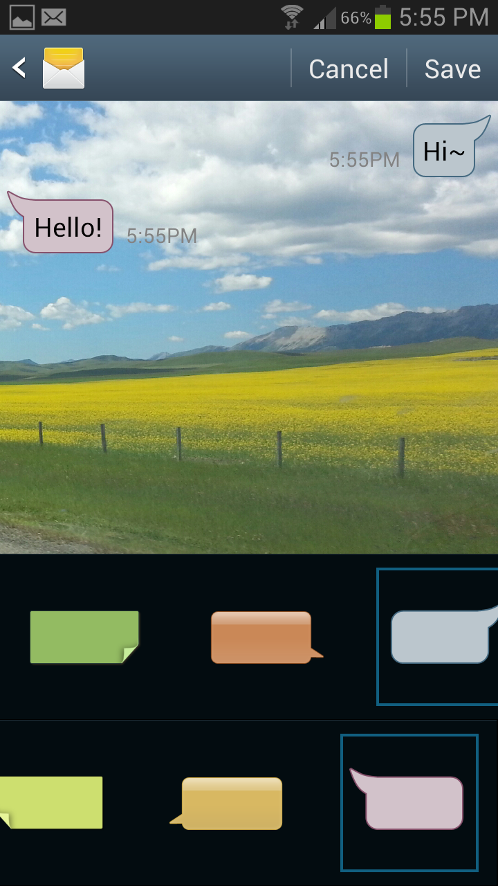 How to customize text message font and background on your samsung how to customize text message font and background on your samsung galaxy voltagebd Gallery