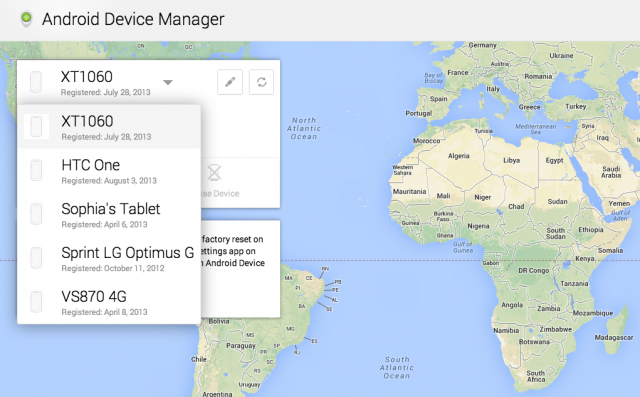 "How To Find Your Lost or Stolen Android With Google's New ""Android Device Manager"" Tool"
