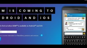 How to Sign Up for BBM for Android