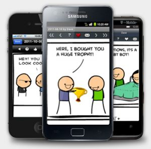 Get Your Daily Dose of Garfield and Calvin & Hobbes On Your Android Device