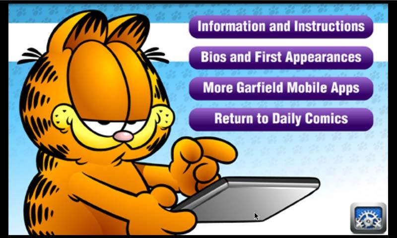 garfield daily android