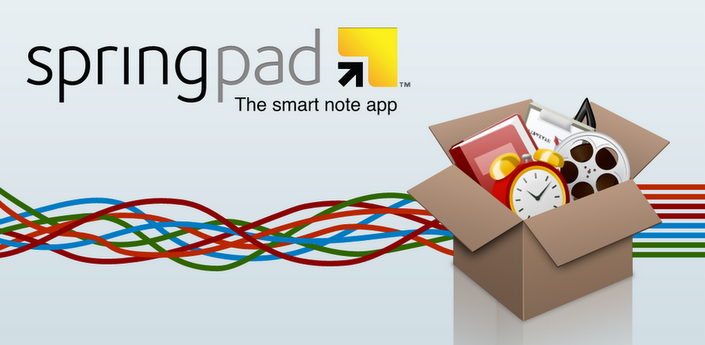 Springpad – A Bright New Alternative to Evernote for Android