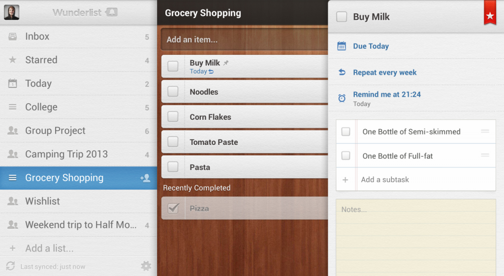 Get Your Daily Chores On Track With Wunderlist