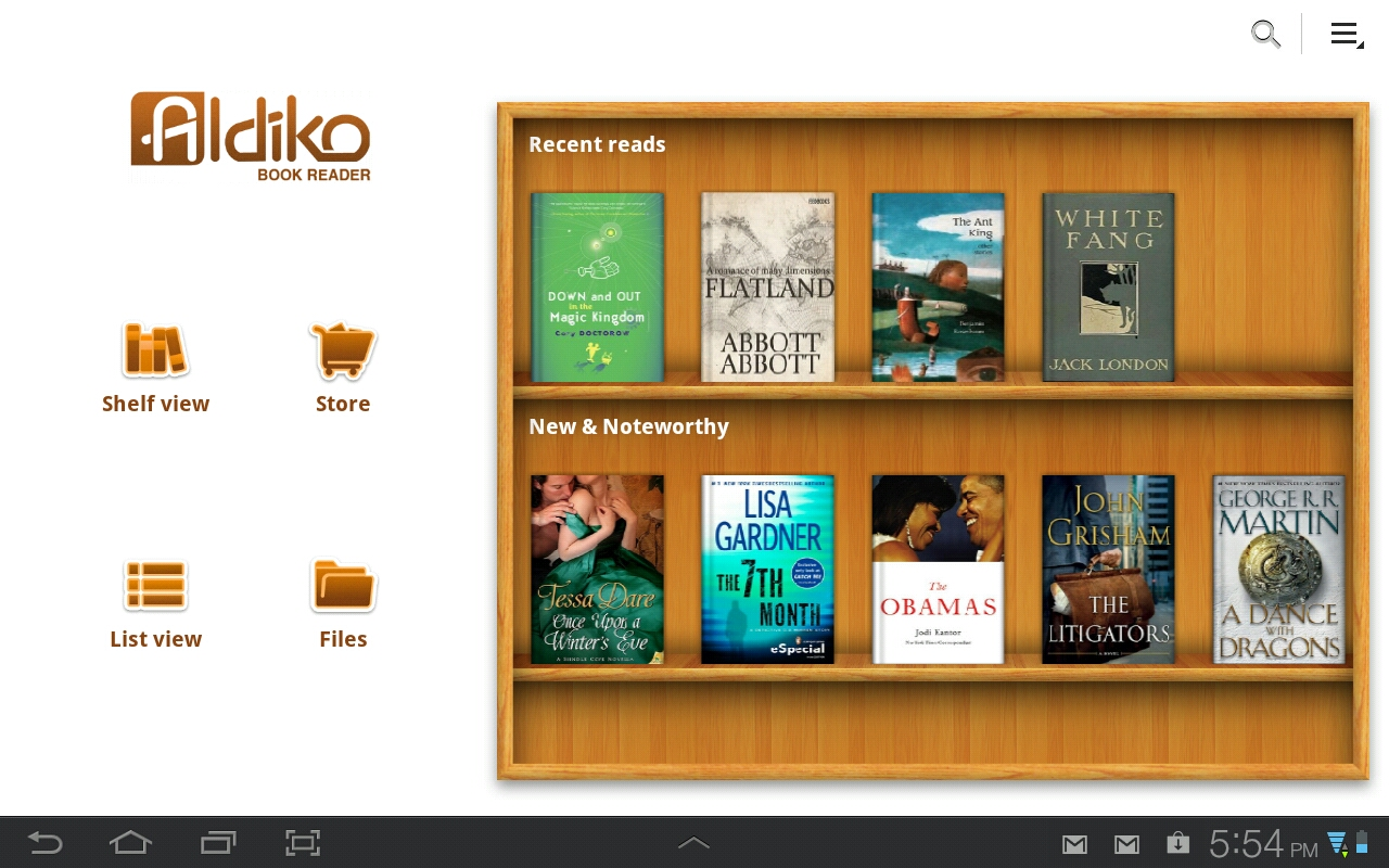 Aldiko – Explore a Treasure Trove of eBooks